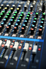 Professional sound console