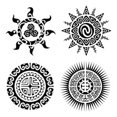 Traditional Maori Taniwha tattoo
