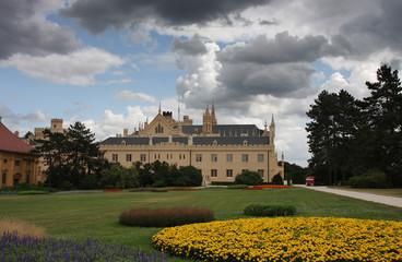 Castle Lednice in Czech Republic,Europe, Unesco world heritage