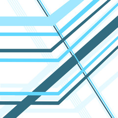 diagonal lines blue vector abstract background