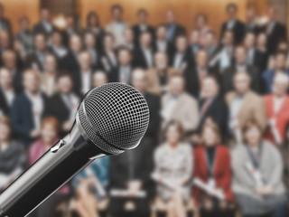 Microfono conferenza palco