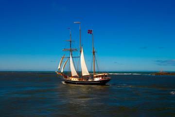 Segelschiff auf Nordsee