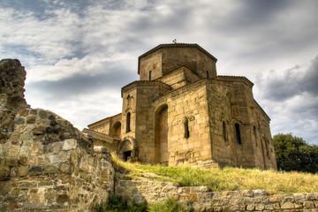 The Jvari monastery near Mtskheta, Georgia