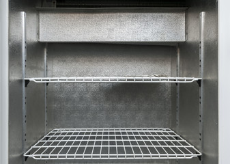 shelves in refrigerator