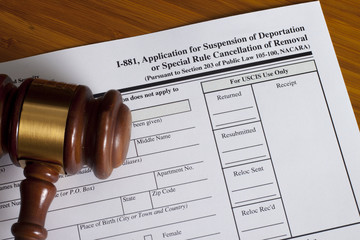 Application Suspension of Deportation