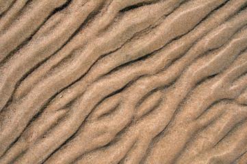 Sand structures, desert, Dahab, Egypt, Africa
