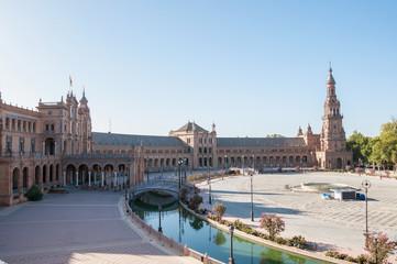 Plaza de Espana in Seville, Spain