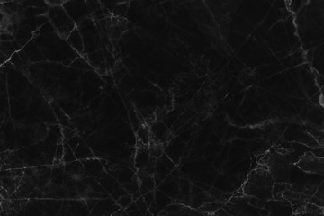 Black marble patterned (natural patterns) texture background, abstract marble texture background for design.