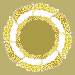 Пшеничный узор