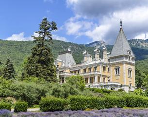 Massandra Palace, Massandra, Yalta, Crimea, Gurzuf, Russian