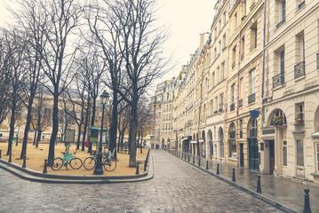 Gloomy day in Paris