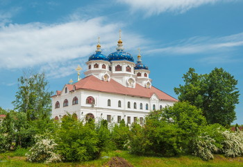 Xenia of Petersburg Church in St. Nicholas Monastery in Yaroslavl region
