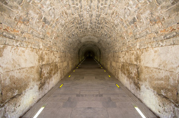 Tunnel in Panathenaic Stadium, Athens, Greece