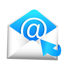 3D Email Inbox Icon
