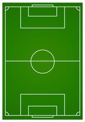 Soccer or football field aerial