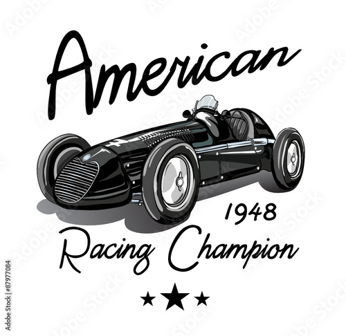 1177bc24e vintage race car for printing/Vector vintage sport racing car/T-shirt  Graphics/Vintage typography/retro race car set/Vector Cartoon Retro Hot  Rod/Vector Hot ...