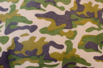 Designs military fabric