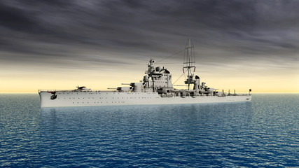 Italian cruiser of World War II