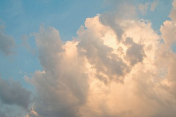 Sky and clouds - Stock Image.