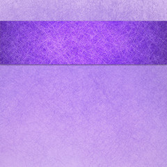 purple background with ribbon and fiber texture, Easter background, spring background design
