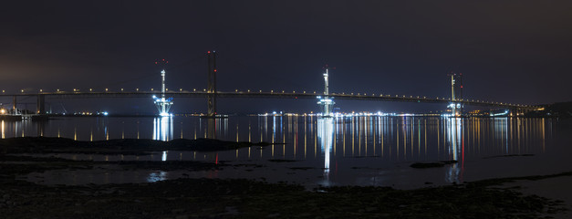 The  Bridge Edinburgh, Scotland night