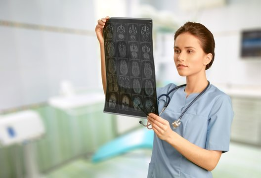 X-ray, X-ray Image, MRI Scanner.