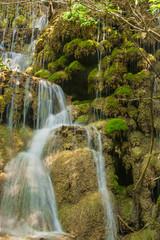 Waterfall from ravine