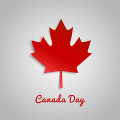 Design a banner for Canada Day 1 st of July.