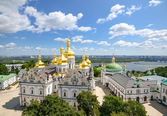 Fototapeten Kiew Kyiv Pechersk Lavra/Cathedral of the Dormition and Refectory Church, Kyiv Pechersk Lavra