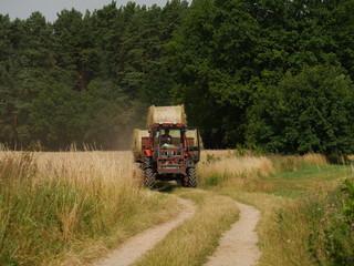 Landarbeit in der Uckermark
