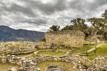 The ruins of Kuelap near Chachapoyas, Peru