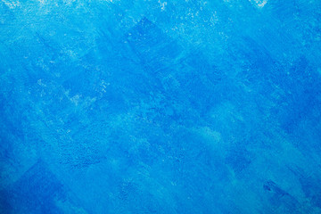 Bare plaster wall background,Blue wallpaper
