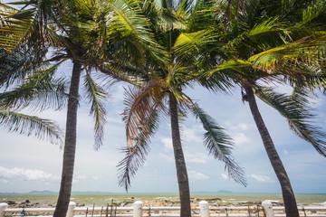 Bangsaen beach Chonburi, Thailand.
