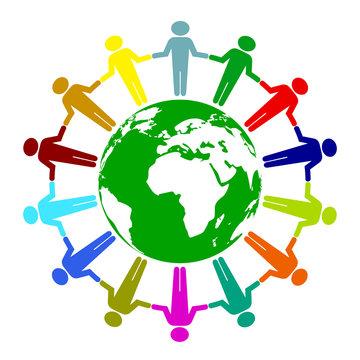 Peace unity icon