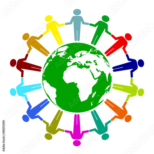 quotpeace unity iconquot stock image and royaltyfree vector