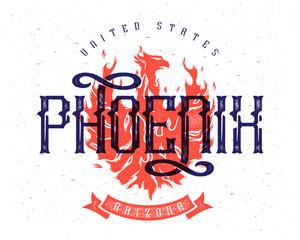 Phoenix city print