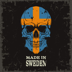 Skull color of the flag