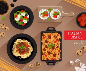 Food Illustration : Italian Food
