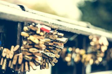 locks on lover bridge