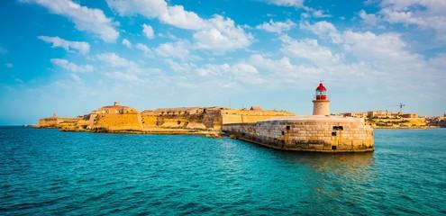 St. Elmo Lighthouse in Valletta