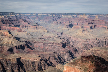 Vue sur le Grand Canyon