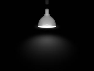 grey lamp