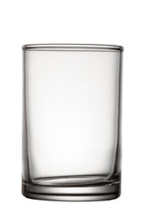 Glass isolated on white background,with clipping path.