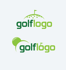Vector Golf Logo Design