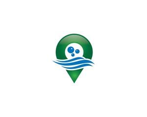 Water Locator Logo Vol. 4