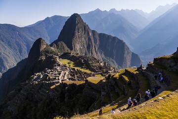Machu Picchu, Peruvian  Historical Sanctuary  and a World Herita
