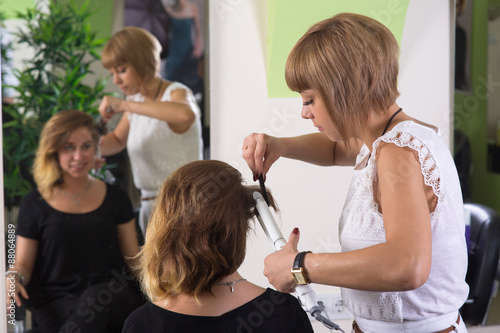 Step Of Haircut Process Stock Photo And Royalty Free Images On