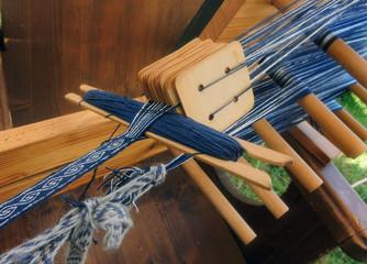 Bandwebstuhl - ribbon loom