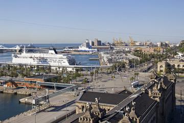 Port of Barcelona, Spain