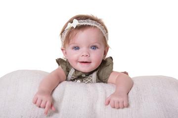 Portrait of an infant girl